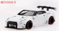 [予約]MINI GT 1/64 LB★WORKS 日産 GT-R R35 GTウイング マットホワイト (右ハンドル)