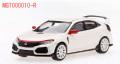 [予約]MINI GT 1/64 ホンダ シビック Type R チャンピオンシップホワイト モデューロキット装着車 (右ハンドル)