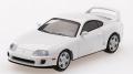 【お1人様5個まで】MINI GT 1/64 トヨタ スープラ(JZA80) スーパーホワイト(右ハンドル)