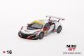 【お1人様3個まで】MINI GT 1/64 ホンダ NSX GT3 #84 マカオGP 2017 Honda Racing