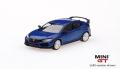 [予約]【お1人様5個まで】MINI GT 1/64 ホンダ シビック Type R モデューロキット装着車 ブリリアントスポーティブルー・メタリック (左ハンドル)