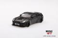 【お1人様2個まで】MINI GT 1/64 LB★WORKS 日産 GT-R R35 タイプ1 リアウイング バージョン2 マジックグレイ 中国限定