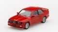 [予約]【お1人様5個まで】MINI GT 1/64 BMW M3(E30) ヘナレッド (右ハンドル)