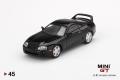 【お1人様5個まで】MINI GT 1/64 Toyota スープラ(JZA80) ブラック(右ハンドル)