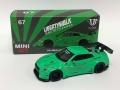 【お1人様2個まで】MINI GT 1/64 LB★WORKS Nissan GT-R R35 タイプ1 リアウイングバージョン 1 ライトグリーン フィリピン限定