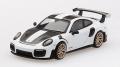 【お1人様5個まで】MINI GT 1/64 ポルシェ 911 GT2 RS ヴァイザッハ パッケージ ホワイト(右ハンドル)