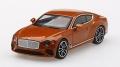 [予約]【お1人様5個まで】MINI GT 1/64 ベントレー コンチネンタルGT オレンジ フレイム (右ハンドル)