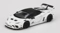 [予約]【お1人様5個まで】MINI GT 1/64 LB★WORKS ランボルギーニ ウラカン GT ホワイト (右ハンドル)