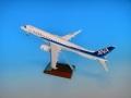 全日空商事 1/100 MRJ90 JA25MJ 飛行試験機5号機スナップフィットモデル(ギアつき)