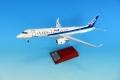 全日空商事 1/100 MRJ90 JA23MJ パリ・エアショー展示機 ※プラスチック製、スナップフィットモデル(ギアつき)<再入荷>