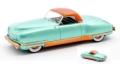 [予約]MATRIX(マトリックス) 1/43 クライスラー Thunderbolt コンセプト LeBaron クローズド 1941 メタリックグリーン
