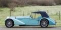 [予約]MATRIX(マトリックス) 1/43 ブガッティ T57SC Sports Tourer Vanden Plas Chassis #57541 クローズド 1938 メタリックブルー
