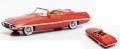 [予約]MATRIX(マトリックス) 1/43 クライスラー ダート Diablo Exner Ghia コンセプト 1957 レッド