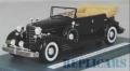 [予約]NEO(ネオ) 1/43 キャデラック フリートウッド allweather Phaeton 1933 ブラック 幌開き