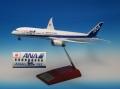 全日空商事 1/200 787-9 JA882A ANA's 50th 787ロゴつきスナップフィットモデル(WiFiレドーム・ギアつき )