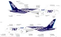 [予約]全日空商事 1/400 787-8 JA801A 特別塗装(ギアつき)ABS樹脂完成品