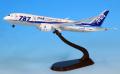 全日空商事 1/400 787-8 JA805A 787ロゴ(ギアつき)ABS樹脂完成品