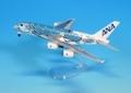 全日空商事 1/500 A380 JA381A ANAブルー (ギアつきWiFiレドームつき)ABS完成品(スタンド付)
