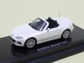 オーバーステア 1/64 マツダ ロードスター RS 2013 クリスタルホワイトパールマイカ