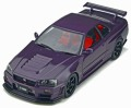 [予約]otto mobile(オットモビル) 1/18 ニスモ GT-R Z-tune LM GT4 (パープル)