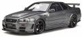 [予約]otto mobile(オットモビル) 1/18 ニスモ GT-R (R34) クラブマン レース スペック(ガンメタリック)  世界限定:2,500個