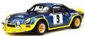 [予約]otto mobile(オットモビル) 1/18 アルピーヌ A110 ターボ セヴェンヌラリー(ブルー/イエロー) 世界限定数: 2,000個