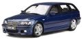 [予約]otto mobile(オットモビル) 1/18 BMW 330i ツーリング Mパッケージ (E46)(ブルー)世界限定 2,000個