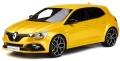 [予約]otto mobile(オットモビル) 1/18 ルノー メガーヌ RS 2017(イエロー)世界限定:999個