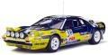 [予約]otto mobile(オットモビル) 1/18 フェラーリ 308 GTB Gr.4 #3 (イエロー/ダークブルー) 世界限定 1,500個