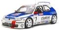 otto mobile(オットモビル) 1/18 プジョー 306 マキシ (Mk.1) Tour de Corse(ホワイト/ブルー/レッド)世界限定 2,500個