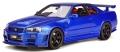 [予約]otto mobile(オットモビル) 1/18 ニスモ R34 GT-R Z-tune(ブルー)世界限定 1,500個