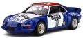 [予約]otto mobile(オットモビル) 1/18 アルピーヌ A110 Gr.5 ラリークロス #67 Team Vialle (ブルー/ホワイト/レッド)世界限定:999個