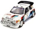 [予約]otto mobile(オットモビル) 1/12 プジョー 205 T16 Evo 2 Rally Monte Carlo 1986 (ホワイト/ブルー)世界限定 999個