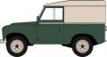 [予約]OXFORD (オックスフォード) 1/43 ランドローバー シリーズ III SWB ハードトップ(ブロンズグリーン)