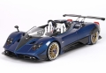 [予約]BBR MODELS 1/18 パガーニ バルケッタ 2018 Carbon fiber Blue Horacio Pagani ※ケース付き