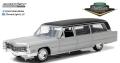 [予約]グリーンライト 1/18 1966 キャデラック S&S Limousine - Silver & Black