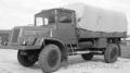 [予約]PremiumClassiXXs(プレミアムクラシックス) 1/43 Tatra 128N 1951 フラットベッドプラットフォームカバー付トレーラー(マットオリーブ)