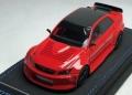 [予約]PEAKO(ピーコ) 1/43 トヨタ TRC アルテッツァ ドリフトカー 2016 Red