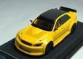 [予約]PEAKO(ピーコ) 1/43 トヨタ TRC アルテッツァ ドリフトカー 2016 Yellow