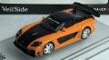 PEAKO(ピーコ) 1/64 Veilside 7 FD3S Fortune オレンジ/ブラック