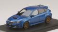 [予約]MARK43(マーク43) 1/43 スバル インプレッサ WRX STI(GRB)純正オプション搭載車 WR ブルーマイカ