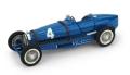 [予約]BRUMM(ブルム) 1/43 ブガッティ タイプ 59 1934年ベルギーGP 1位 #4 Rene Dreyfus