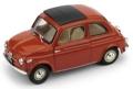 [予約]BRUMM(ブルム) 1/43 フィアット ヌォーヴァ 500 クローズド 1959 コーラルレッド インテリアベージュ