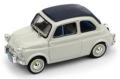 [予約]BRUMM(ブルム) 1/43 フィアット ヌォーヴァ 500 タイプアメリカ 1958 クローズド ライトグレー