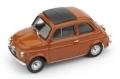 [予約]BRUMM(ブルム) 1/43 フィアット 500F クローズ 1965-1972 コーラル インテリア:ブラック