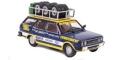 [予約]ixo (イクソ) 1/43 フィアット 131 パノラマ Olio Flat 1975 Rallye Assistance