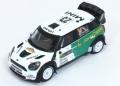 [予約]ixo (イクソ) 1/43 ミニ ジョンクーパー ワークス 2013年 WRC スウェーデンラリー #23 J.NIKARA/J.KALLIOLEPO
