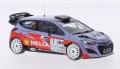 [予約]ixo (イクソ) 1/43 ヒュンダイ i20 2014年 WRC ラリーアンティーブ 初優勝 #1 B.Bouffier/X.Panseri Winner