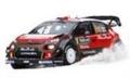 [予約]ixo (イクソ) 1/43 シトロエン DS3 WRC 2017年ラリー・サルデーニャ #9 A.Mikkelsen-A.Synnevaag