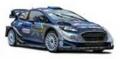 [予約]ixo (イクソ) 1/43 フォード フィエスタ WRC 2017年ラリー・モンテカルロ #2 O.Tanak - M.Jarveoja ナイトライト付